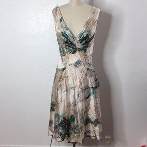 Diane Von Furstetnberg Silk Dress 8